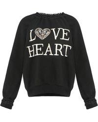 Needle & Thread - Love Heart Sweat - Lyst