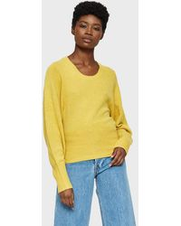 Creatures of Comfort - Scoop Cropped Sweater - Lyst