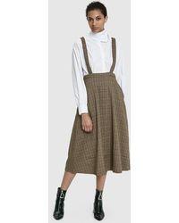 Stelen - Tisha Plaid Skirt - Lyst
