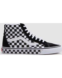 Vans - Sk8-hi Reissue Black/white Checkerboard - Lyst
