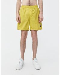 Stone Island - Brushed Nylon Badge Swim Short - Lyst
