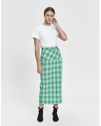 Rachel Comey - Transpire Plaid Skirt - Lyst