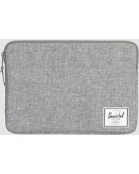 "Herschel Supply Co. - Anchor 15"" Macbook Sleeve In Black - Lyst"