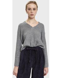 Stelen - Cherise V-neck Sweater - Lyst