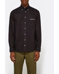 Gitman Brothers Vintage - Overdye Oxford Shirt In Black - Lyst