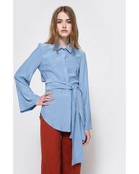 Need Supply Co. - Fiction Silk Shirt - Lyst