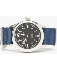 Need Supply Co. - 3-hand Date In Navy Nylon - Lyst