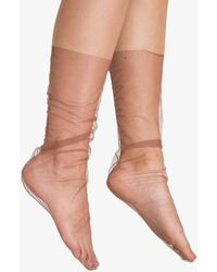 Need Supply Co. - Smoked Rose Tulle Sock - Lyst