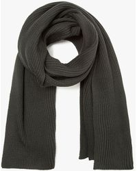 Need Supply Co. - Rib Scarf In Lichen - Lyst