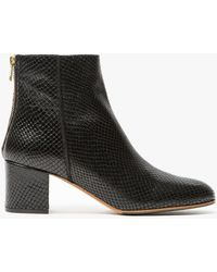 Need Supply Co. | Mei Boot In Black Snake | Lyst