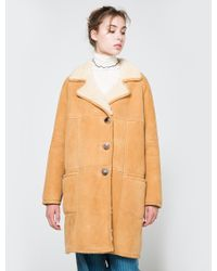 Trademark - Shearling In White - Lyst