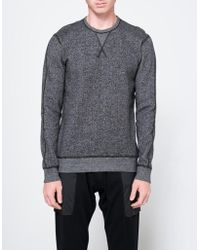 Need Supply Co. - Ls Crewneck In Black Tiger Fleece - Lyst