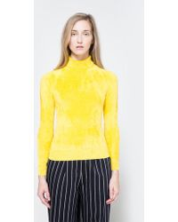 Need Supply Co. - Shrunken Turtle Neck In Yellow - Lyst