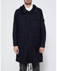 Need Supply Co. - Over Parka Dk. Navy Uniform Serge - Lyst