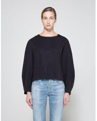 Need Supply Co. - Hanna Top In Navy - Lyst