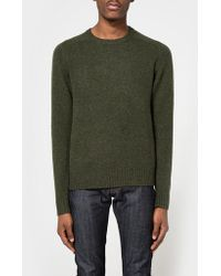 Need Supply Co. - B+5 Gauge Crew In Olive - Lyst