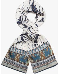 Éditions MR - Abstract Mosaic Scarf - Lyst