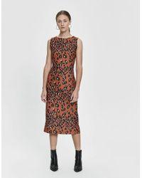 Rachel Comey - Medina Leopard Midi Dress - Lyst