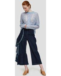 Just Female - Dagmar Knit In Kentucky Blue - Lyst