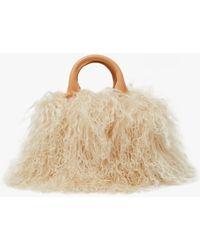 Brother Vellies - Mini Island Bag In Luna - Lyst