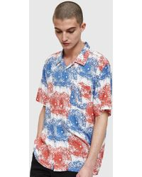 Obey - Shatterered Woven Shirt - Lyst