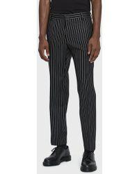 Dries Van Noten - Striped Wool Trouser - Lyst
