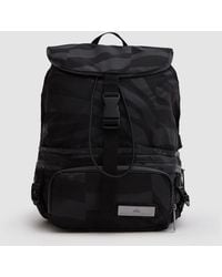 c095e0f11f96 Adidas By Stella Mccartney Run Convertible Backpack in Black - Lyst