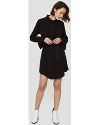 Farrow | Sara Belted Dress In Black | Lyst