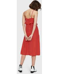 Which We Want - Fatima Dress In Red - Lyst