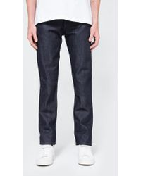 Naked & Famous - Weird Guy Indigo Selvedge - Lyst