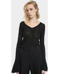 Which We Want - Rie Bell Sleeve Sweater - Lyst
