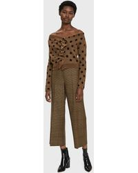 Rachel Comey - Embrace Knit Polka Dot Top - Lyst