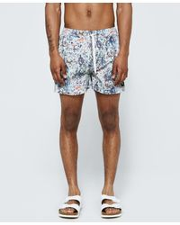 Insted We Smile - Colorful War Swim Short - Lyst