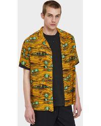 Insight - Hotel California Ss Shirt In Gold - Lyst