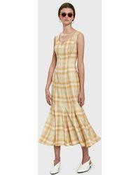 AALTO - Long Panelled Dress - Lyst