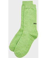 Stussy - Everyday Sock - Lyst