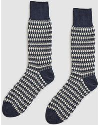 Chup - Nordic Forest Knit Sock - Lyst