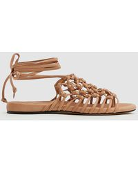 Alumnae - Knotted Ankle Wrap Sandal - Lyst