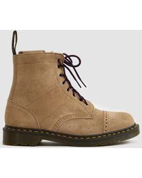 Dr. Martens - Needles 1460 Suede Boot - Lyst
