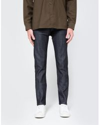 Naked & Famous - Weird Guy Dirty Fade Selvedge 14.5oz. - Lyst