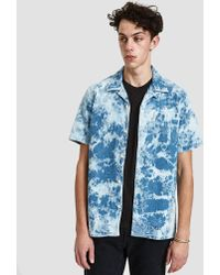 Levi's - Hawaiian Shirt In Spider Bleach - Lyst