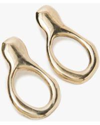 Drift Riot - Free Form Earrings In Brass - Lyst