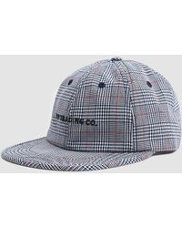 Pop Trading Co. - Flexfoam 6 Panel Hat In White/red Plaid - Lyst