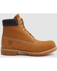 Timberland - 6 In. Premium Boot In Wheat Nubuck - Lyst