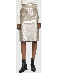 Stussy - Elasticated Waist Skirt - Lyst