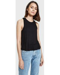 Which We Want - Ribbed Crop Top In Black - Lyst