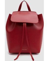 Mansur Gavriel - Mini Leather Backpack - Lyst
