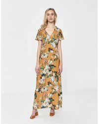 0c55701f3ff Lyst - Étoile Isabel Marant Oriane Short-sleeved Denim Dress in Blue