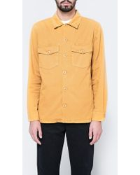 Stussy - X Need Supply Co. Pigment Dyed Work Shirt - Lyst