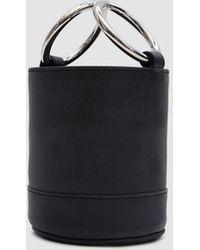 Simon Miller - Bonsai 15 Cm Bag In Black Baranil Calf - Lyst